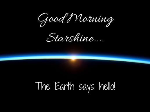 goodmorningstarshine