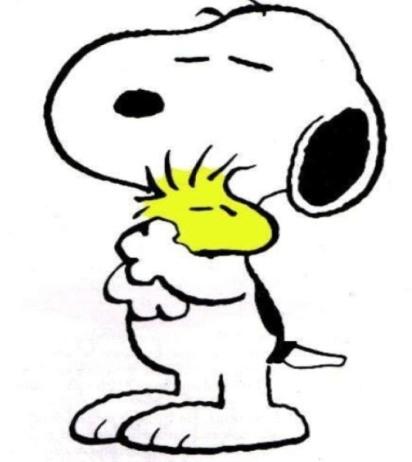 SnoopyHugWood